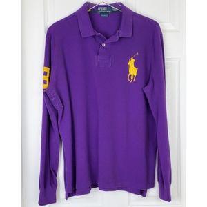 Polo by ralph big polo longsleeve polo shirt